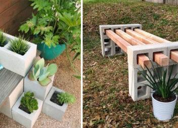 Кращі ідеї дизайну саду з шлакоблоків на дачній ділянці