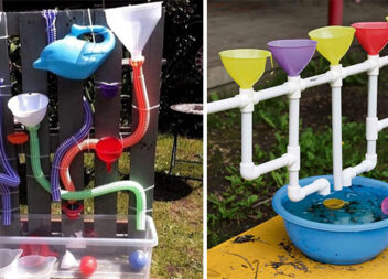 Саморобні конструкції для дитячих ігор із водою