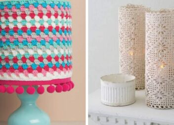 Креатив гачком: дрібний декор для дому