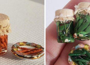 Мініатюрні заготовки на зиму. Пластика