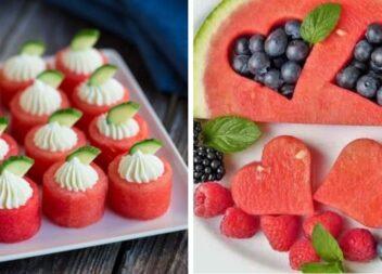 Ідеальна фруктова тарілка. Нарізаємо фрукти красиво