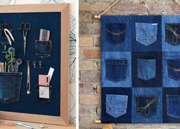 Як використати кишені із джинсів. Практичні органайзери для дому