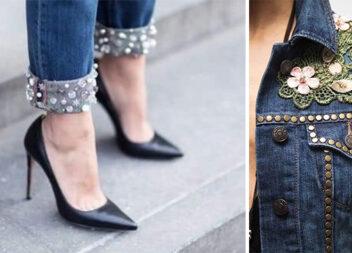 Як зробити джинсові речі модними: добірка ідей