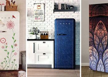 """""""Обгортка"""" для холодильника - родзинка в інтер'єрі кухні"""