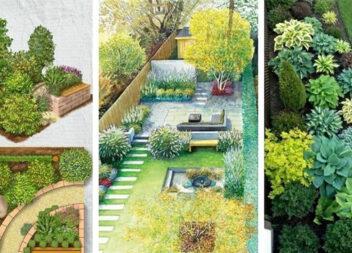 Оригінальні схеми квітників для вашого саду