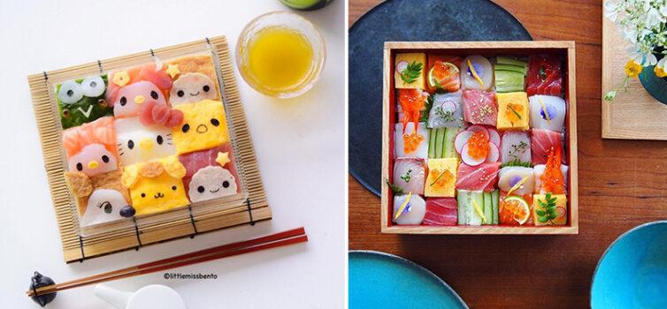 Мозаїка з суші - новий кулінарний тренд, який завоював серця японців