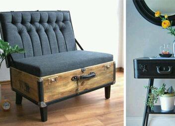 Старі валізи в інтер'єрі. 14 цікавих ідей