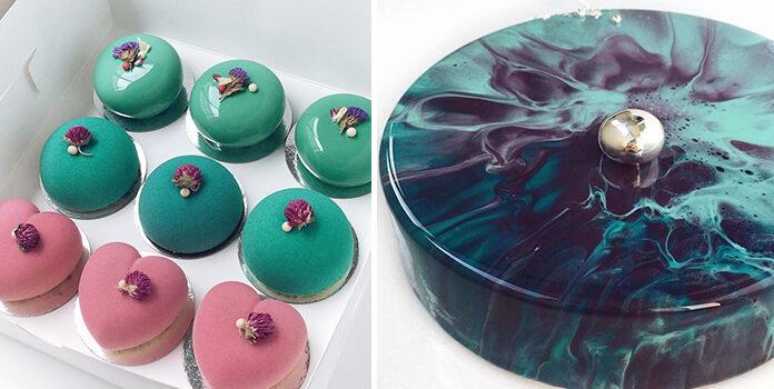 Торти із дзеркальною глазур'ю: нова модна методика декорування випічки