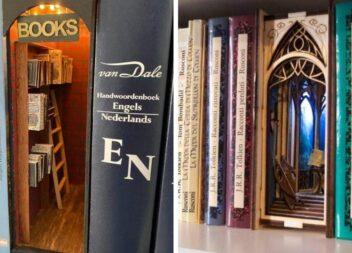Казкові тримачі для книг на полиці