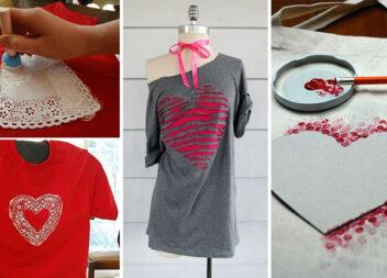 Аплікації із сердець для декорування та ремонту одягу