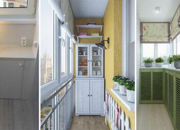 Корисні ідеї для зберігання речей на маленьких і вузьких балконах