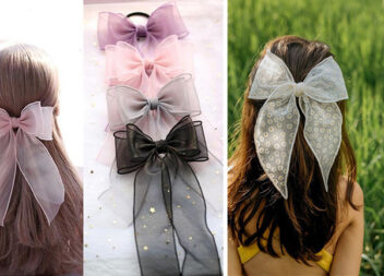 15 варіантів бантиків на волосся, які можна створити власноруч