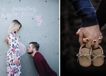 30+ крутих ідей для фотосесії вагітної