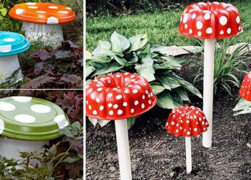 Робимо декоративні грибочки самотужки. Майстер класи