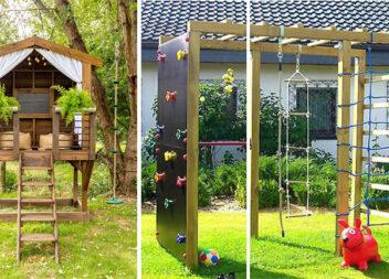 Більше 30 ідей дитячої ігрової зони біля будинку