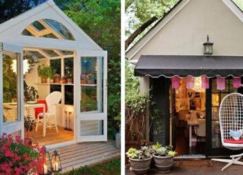 Як облаштувати жіночий куточок для відпочинку в саду: 30+ ідей для натхнення