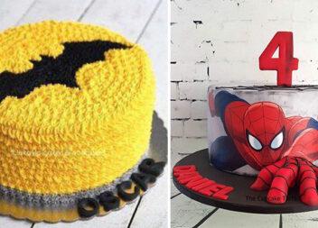 Тортики із супер героями для дитячого свята