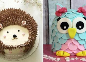 Оригінальні тортики до дитячого свята. 20 смачних ідей