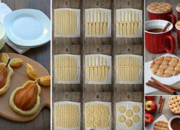 Робимо красиву випічку: більше 40 цікавих виробів із тіста