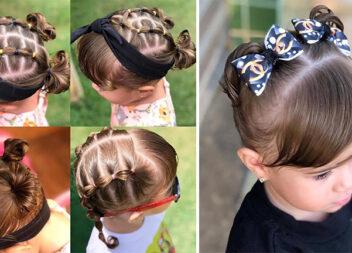 19 чудових зачісок для маленьких дівчаток