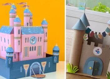 Дитяча забава: створюємо замок із паперу