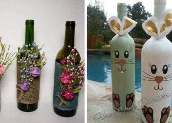 Декоруємо пляшки. Красиві ідейки до святкувань
