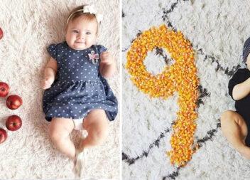 Креативні фото малюків, які можна зробити вдома самотужки
