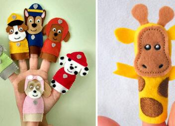 Красиві іграшки для пальчикових ігор. Шиємо самотужки