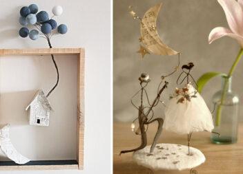 Креативні композиції із дроту та додаткових матеріалів