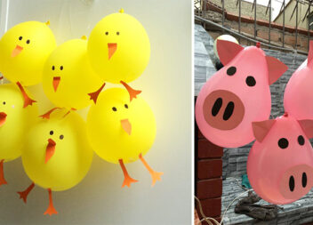 Прикрашаємо дитячу вечірку кульками із тварин