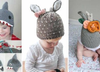 Чудові ідеї теплих шапочок для дітей