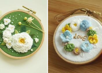 Квіткова ніжність: вишивка, яка зачаровує