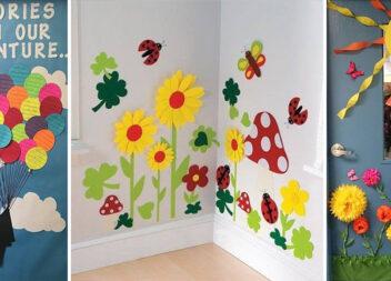 Яскравий декор для школи та садочка: добірка доступний ідей, які можна зробити із паперу самотужки