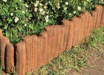 Як зробити гарненький паркан для клумби самотужки. Майстер клас
