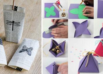 Як зробити святкову упаковку для подарунку самотужки. Ідеї + шаблони