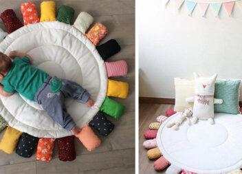 Шиємо килимок для малюка самотужки