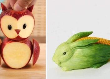 Більше 30 креативних ідей для створення композицій із овочів та фруктів