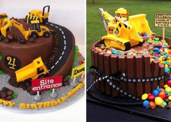 Святкові тортики для хлопчаків, які обожнюють автомобілі