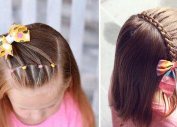 15 казкових і простих зачісок для маленьких дівчаток