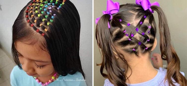 20 крутих зачісок для маленьких дівчаток із використанням гумок для волосся